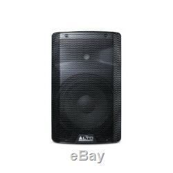 Alto Tx210 Active Powered 10 150w Rms Dj Disco Scène Pa Président (paire)