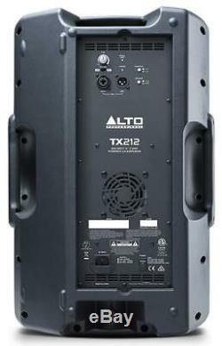 Alto Tx212 Actif 600 Watt 12 Pouces 2 Way Powered Dj Pa Disco Président