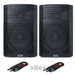 Alto Tx212 Active 12 Enceintes De Scène Sono Dj Disco Band (paire) Avec Câbles Gratuit