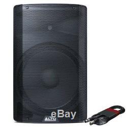 Alto Tx215 Active 15 300 W Rms Enceinte De Sono De Scène Dj Disco Avec Câble Xlr Gratuit