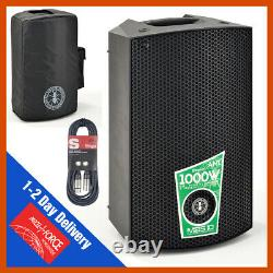 Ant Mbs15 15 Active Powered 1600w Dj Pa Disco Club Haut-parleur 6m Câble Et Sac Gratuit