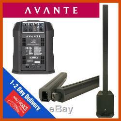 Avante As8 Colonne Haut-parleur 800w Dj Disco Son Système Pa B Stock