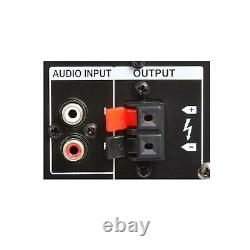 B-stock 1200w 8 Haut-parleurs Actifs Disco Usb Sd 2 Vhf Mics Led Fx Gratuit P & P Spec