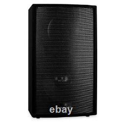B-stock 15 Active Dj Monitor 750w Rms 2-way Disco Pa Speaker Karaoke Party