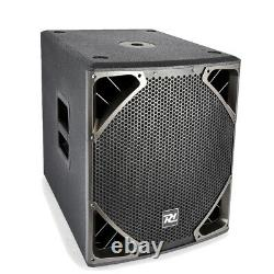 B-stock Active Subwoofer Speaker 15 Sous Driver Basse Bin 500w Pa Dj Disco Club