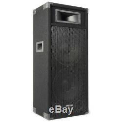 B-stock Double 15 Enceinte De Sono Active Amplifiée Dj Disco Sound System Fenton Csb215