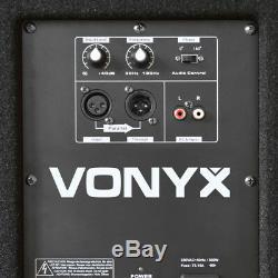 B-stock Vonyx 18 Subwoofer Actif Et Amplificateur De Basses Pour Bass Dj Disco Pa Sub