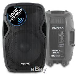 B-stock Vonyx Active Enceinte De Sono Amplifiée Ap1500a 15 (single) Dj disco Party