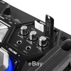 B-stock Vs10 Bluetooth Actifs À Partir Disco Haut-parleurs Set Dj Party Avec Led