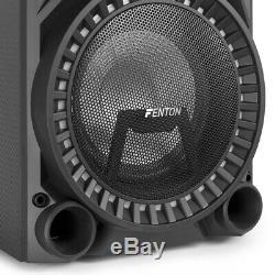B-stock Vs210 Bluetooth Disco Active Speaker Powered Dj Party Box Avec Led