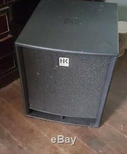 Bass Bass Hk Audio Premium Pro18sa 18 Subwoofer Passif Dj Disco Pa