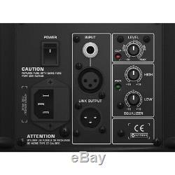 Behringer B215d Haut-parleur Actif Sono Dj Disco Actif Noir, Garantie Incluse