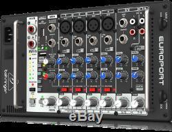 Behringer Eps500mp3 Portable Pa System Haut-parleur Actif / Amplificateur Dj / Disco 500w