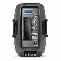 Bluetooth Active 12 Pa Speaker 600w Karaoke Party Usb Sd Dj Disco Haut-parleur