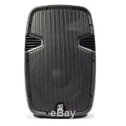 Bluetooth Active 15 Pa Président 800w Karaoke Party Usb Sd Dj Disco Haut-parleur