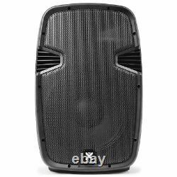 Bluetooth Active Pa Speaker System Usb Mp3 12 Woofer 600w Vonyx Dj Disco Party