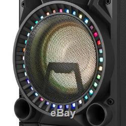 Boîtier De Fête Dj Actif Avec Haut-parleur Disco Bluetooth Vs210 Bluetooth Avec Del 1600w