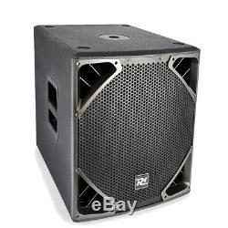 Caisson De Grave Haut-parleur 15 Sub Bass Driver Bin 500w Pa Dj Disco Club Pd615sa