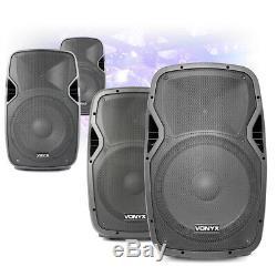 Choix Vonyx Ap Actif Powered Mobile Dj Disco Président 8 10 12 15 200w-800w