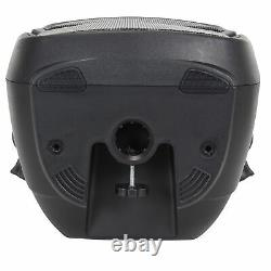 Compact High Powered Active Pa Speaker 400w 10 Woofer Dj Disco Seulement 8kg