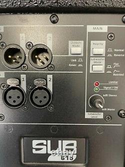 Db Technologies Sub 615 1200w 15 Actived Subwoofer Sub Dj Disco 10034217