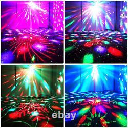 Disco Lights Disco Ball Lights Bluetooth Haut-parleur Dj Party Sound Activé Avec Led