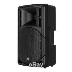 Dj Disco Rcf Art312-a (mk4) Active 12 Haut-parleurs 1600w Pack Système