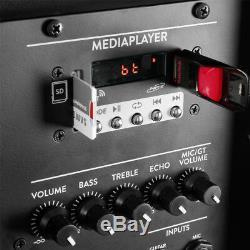 Dj Haut-parleurs Pa Powered Actifs Disco 15 Pouces Woofer Bluetooth Avec Des Stands 700w