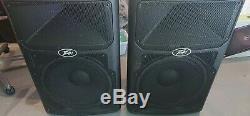Dj Pa Disco Peavey Pvxp15 Powered Haut-parleurs Actifs Pvxp 15 800w