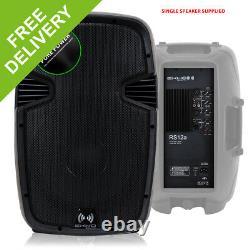 Ekho Rs12a 12 Active Powered Speaker Pa System Disco Party Box Dj Sound 600w