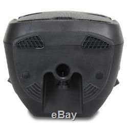 Ekho Rs12a 12 Enceinte Active Amplifiée Système De Sonorisation Disco Party Box Dj Sound 600w