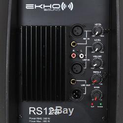 Ekho Rs12a V3 V3 12 1200w Ipp Active Dj Pa Haut-parleur Disco Disco Club Musique