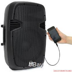 Ekho Rs15a Haut-parleur Amplifié Actif 15 Pouces Dj Disco Pa Soirée Karaoké 800w Max