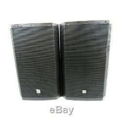Electro Voice Zlx 15p Dj Disco Actifs À Partir Haut-parleurs Withev Covers + Garantie