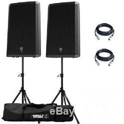 Electro-voice Ev Zlx-15p 15 Haut-parleur Stéréo Club Disco Actif 2000w Dj (paire)
