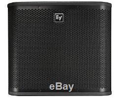 Electro-voice Zxa1-sub 12 Bassin Amplifié Pour Subwoofer De 800w Système De Sonorisation Dj Disco