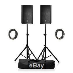 Electrovoice Elx200-10p Active 10 Pa Président 2400w Système Dj Disco Ensemble