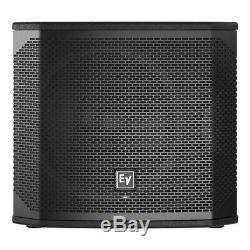 Electrovoice Elx200-12sp Active 12 Haut-parleurs Graves Subwoofer 1200w Dj Disco Sound
