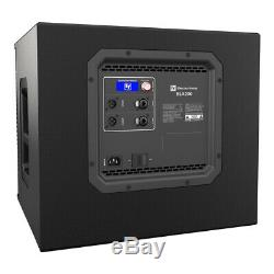 Electrovoice Subwoofer Active Pa System 4800w Dj Disco Subwoofer Elx200-10p + Elx200-12sp