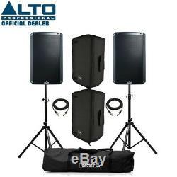 Enceinte Alto Ts315 Active 15 Dj Disco (paire) Avec Gaines, Supports Et Câbles