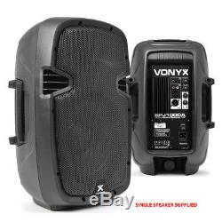 Enceinte De Sonorisation Compacte Haute Puissance 400w 10 Woofer Dj Disco Lightweight Seulement 8kg