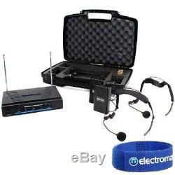 Enceinte Disco Pa Skytec 12 Active Gym + Système De Microphone Sans Fil 600w