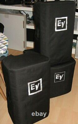 Ev Zlx12p 2 Way 1000w 12 Powered Speaker Dj Disco Pa Sound System + Extras