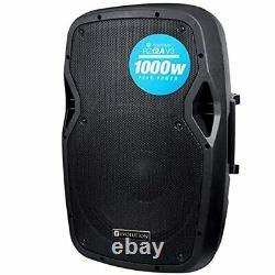 Evolution Audio Rz12a V3 12 1000w Haut-parleur Actif Dj Disco Pa Club