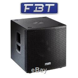 Fbt Subline 112sa Actif Powered 12 700w Rms Dj Disco Club Bar Subwoofer Sub