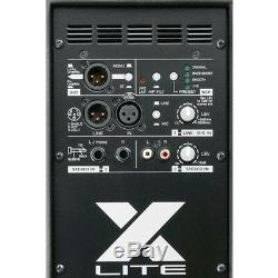 Fbt X-lite 15a Actif 15 1000w Dj Disco Pa Président (paire) Avec Supports Et Câbles