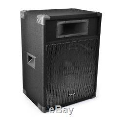 Fenton Csb15 Active 15 Haut-parleur Karaoké Disco Pa Party Disco Dj 800w Max