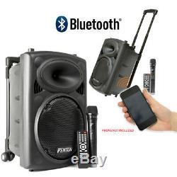 Fenton Fps10 Actif Bluetooth Disco Party Président + Soundsak Président Carry Bag