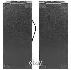 Fenton Spb 10 Paire Alimenté Bluetooth Disco Party Haut-parleurs Avec Usb Mp3 600w