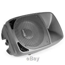 Haut-parleur Actif Bluetooth Pa Mobile Dj Disco Party Usb Karaoke Light 12 250w